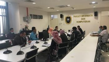 Mesyuarat Initial Auditan Perolehan Prasarana di Taman Interaktif UniSZA Besut (TIUB)